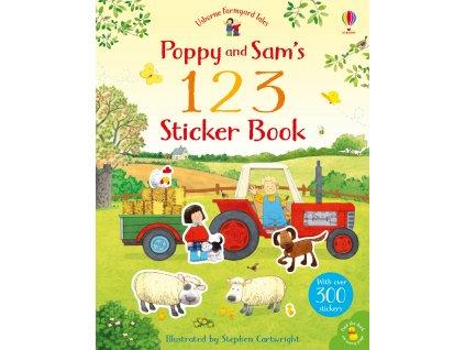 Poppy and Sam's 123 Sticker Book