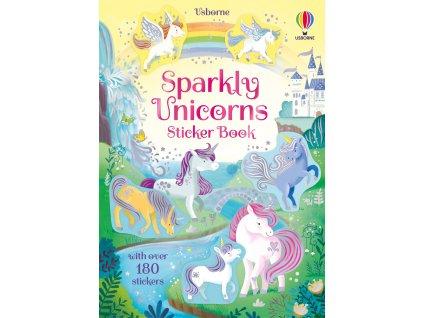 Sparkly Unicorns Sticker Book 1