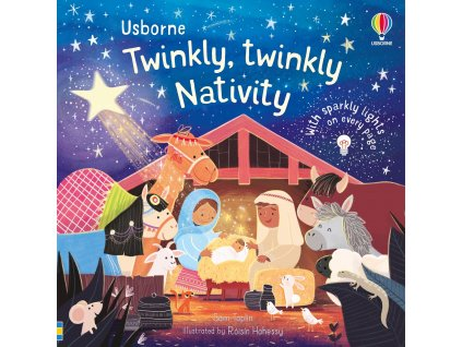 The twinkly, twinkly Nativity 1