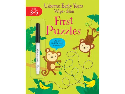 Early Years Wipe clean First Puzzles