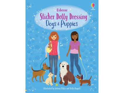 Sticker Dolly Dressing Dogs and Puppies 1
