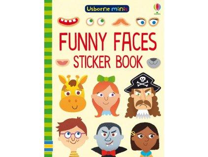 Funny faces sticker book