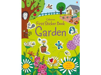 First Sticker Book Garden 1