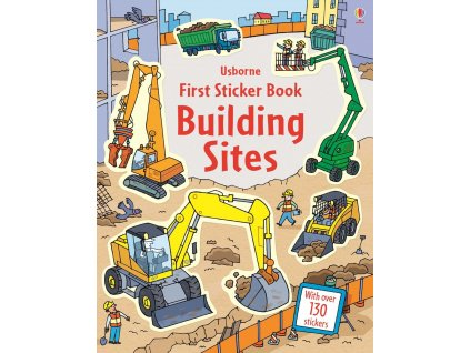 First Sticker Book Building sites 1