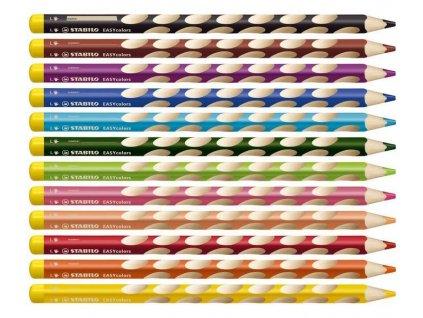 Stabilo EASYcolors pro leváky 12 ks