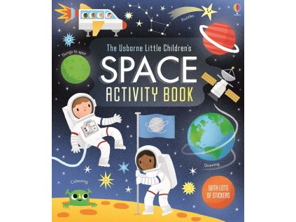 Little children's space activity book 1