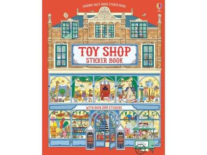 Toy Shop Sticker Book