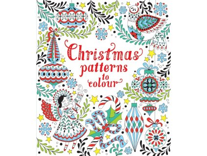 Christmas patterns to colour 1