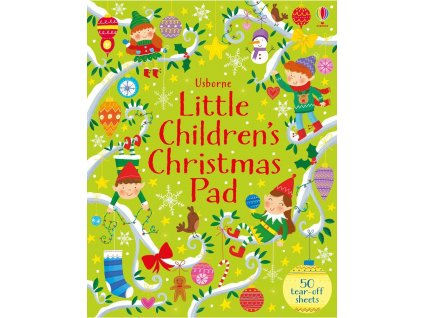 Little children's Christmas pad 1