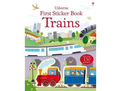 First Sticker Book Trains 1