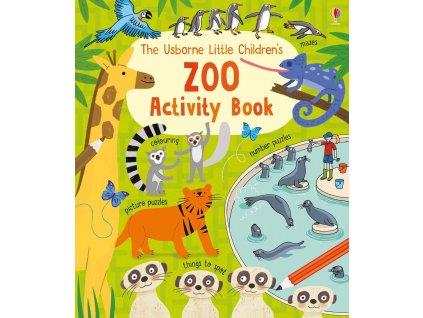 Little children's zoo activity book