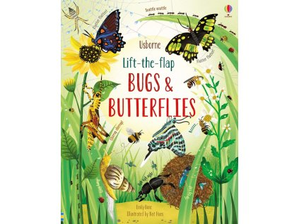 Lift the flap bugs and butterflies