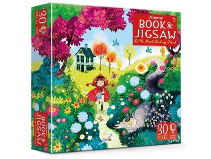 Book&Jigsaw Little Red Riding Hood