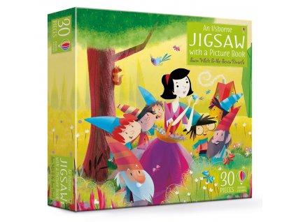 Book&Jigsaw Snow White & the Seven Dwarfs