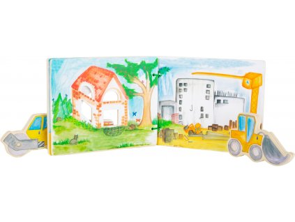 Construction Site Picture Book, interactive 2
