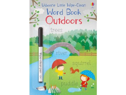 Little wipe clean word book Outdoors