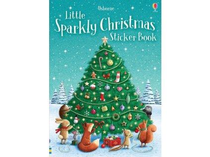 Little sparkly Christmas sticker book