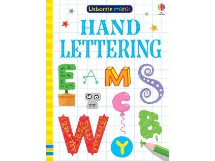 Usborne Minis Hand lettering