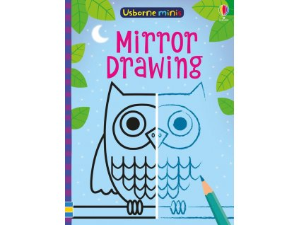 Usborne Minis Mirror drawing