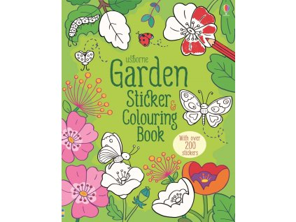 Garden sticker and colouring book 1