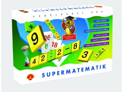 A0466 Alexander SUPERMATETIK 3D box predni strana 800x610 72dpi