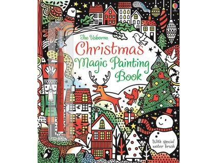 Christmas Magic Painting Book 1