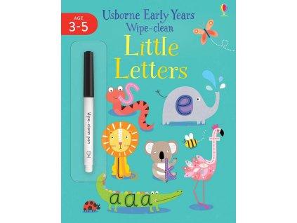 Early Years Wipe Clean Little Letters