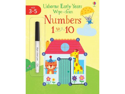 Early Years Wipe Clean Numbers 1 to 10