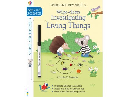 Wipe Clean Investigating Living Things 7 8
