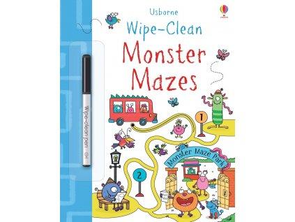 Wipe Clean Monster Mazes