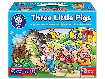 Vzdělávací hra Tři malá prasátka 1