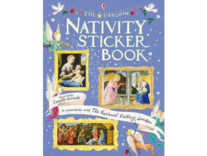 Nativity Sticker Book 1