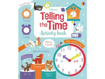 Telling the Time Activity Book 1