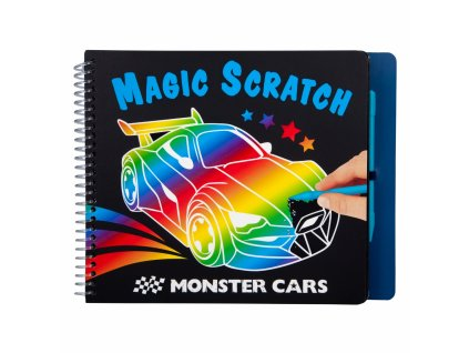 Monster Cars Magic Scratch Book 1