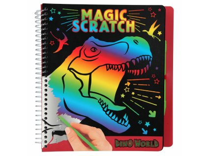 Dino World Magic Scratch Book 1