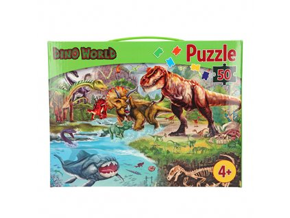 Puzzle Dino World 1