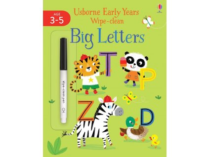 Early Years Wipe Clean Big Letters