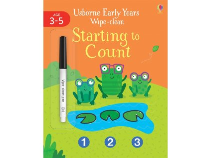 EARLY YEARS WIPE CLEAN STARTING TO COUNT