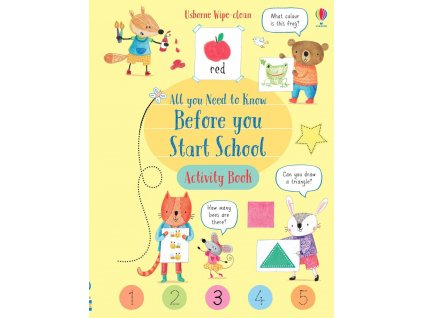 Wipe Clean All You Need to Know Before You Start School Activity Book