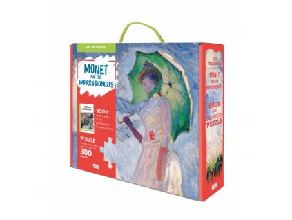 Monet and the Impressionists. Woman with a Parasol, Turned to the Left 1