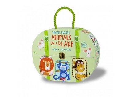 Animals on a Plane 1