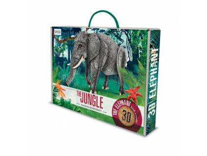 The 3D Elephant The Jungle Amazing Biodiversity 1