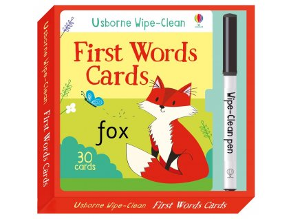 First Words Cards