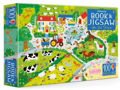Book&Jigsaw On the Farm