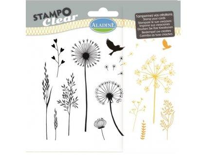Gelová razítka StampoClear, traviny