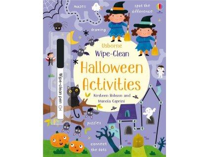 Wipe Clean Halloween Activities