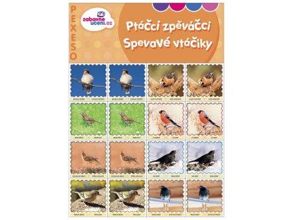 Zábavné učení Pexeso Ptáčci zpěváčci 1
