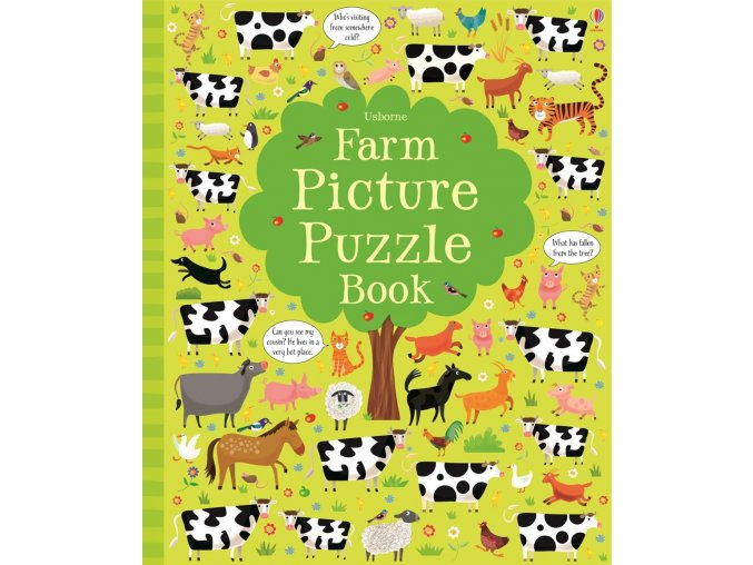 Farm Picture Puzzle Book 1