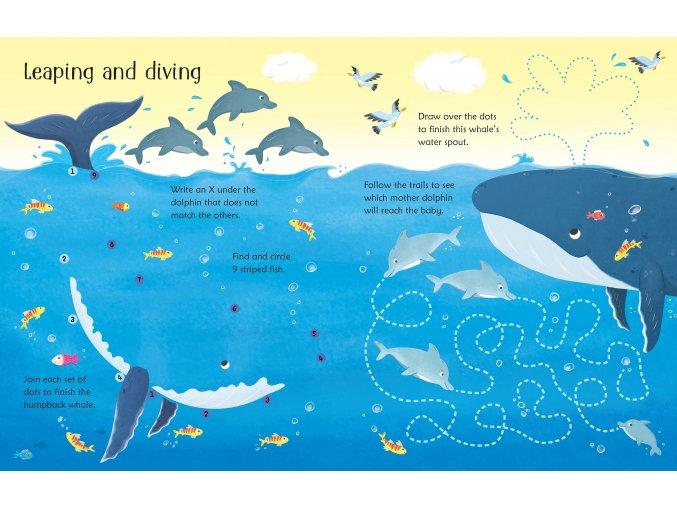 Wipe clean Under the Sea Activities