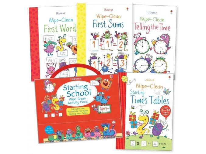 Wipe clean Activity Pack Starting School